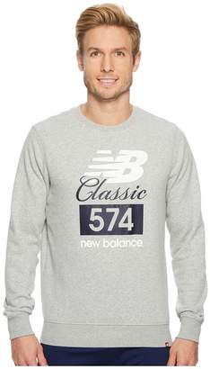 New Balance Classic 574 Crew Men's Long Sleeve Pullover