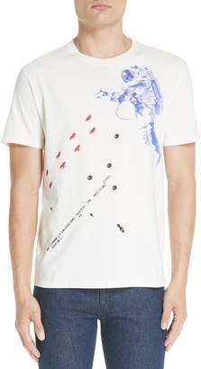 Raf Simons Slim Fit Astronaut Graphic T-Shirt