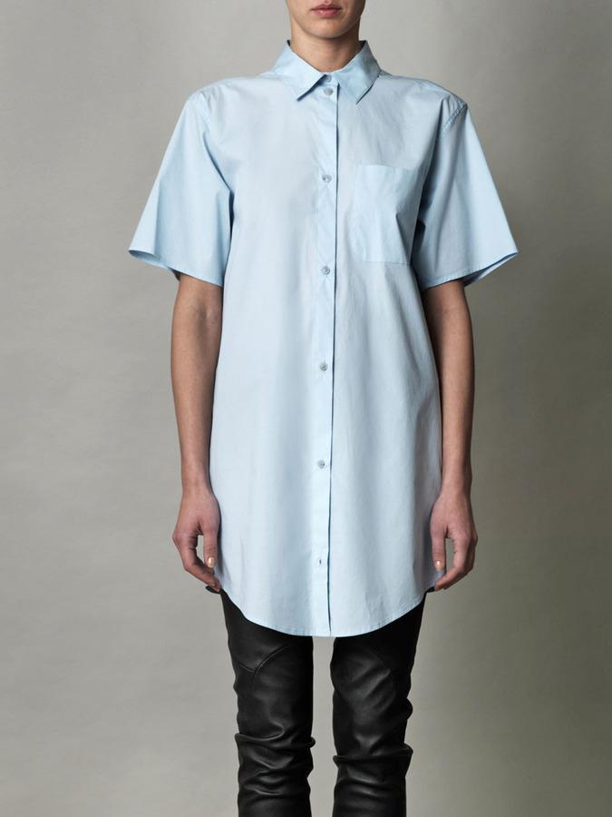 Maison Martin Margiela Oversized cotton shirt