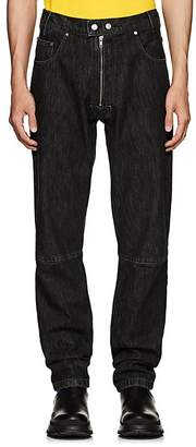 GmbH Men's Exposed-Zip Articulated Jeans