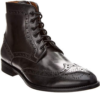 Gordon Rush Italy Wingtip Leather Lace-Up Boot