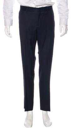 Gucci Pleated Wool & Mohair Dress Pants