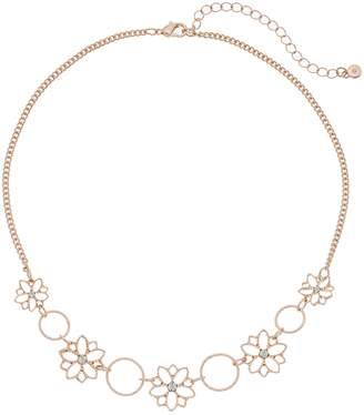 Lauren Conrad Filigree Flower Statement Necklace