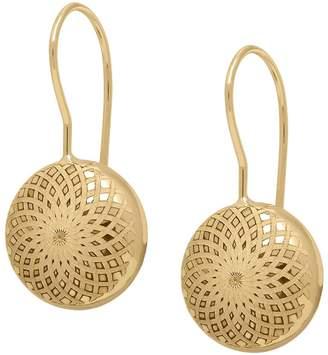 Eternagold EternaGold Kaleidoscope Pattern Coin Bead Earrings, 14K
