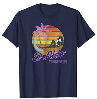 El Nido Philippines SE Asia Retro Classic Surf T-Shirt