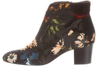 Christian Louboutin Disco 70s Velvet Ankle Boots