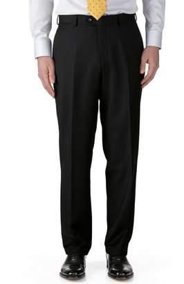 Charles Tyrwhitt Black Classic Fit Twill Business Suit Wool Pants Size W32 L32