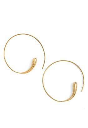 Women's Soko Threader Hoops $58 thestylecure.com