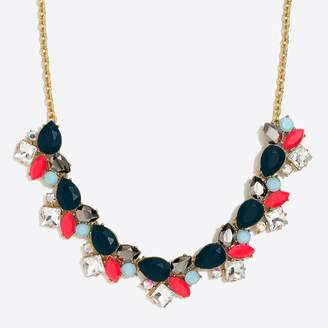 J.Crew Factory Colorful stone statement necklace