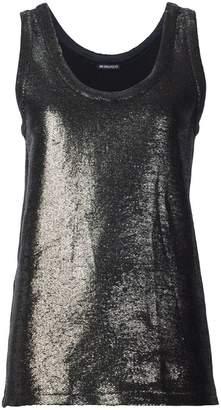 Ann Demeulemeester metallic effect tank top