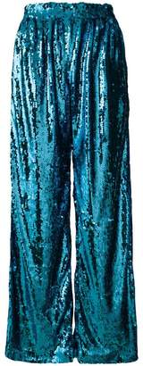 Faith Connexion sequin palazzo trousers