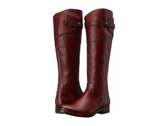 Frye Molly Button Tall Cowboy Boots