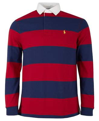 Polo Ralph Lauren Long Sleeved Striped Rugby Shirt