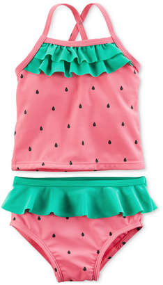 Carter's 2-Pc. Strawberry Swimsuit, Baby Girls