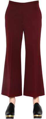 Rosetta Getty Cropped Wool Trousers