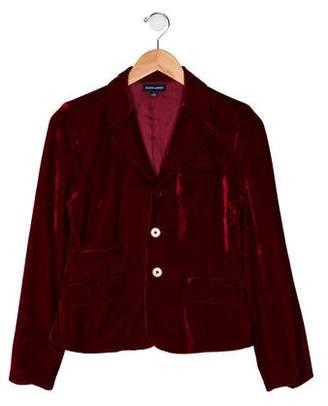 Ralph Lauren Girls' Velvet Blazer