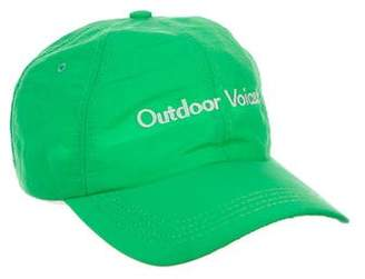 Outdoor Voices Logo Baseball Cap