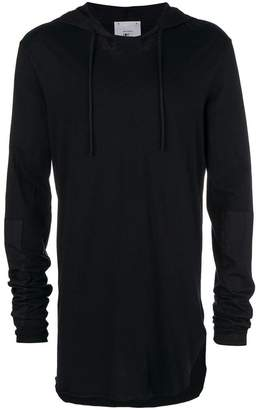 Lost & Found Rooms oversized hooded top