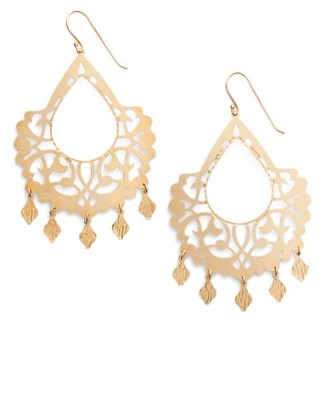 Women's Argento Vivo Drop Earrings $128 thestylecure.com