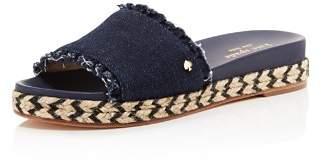 Kate Spade Women's Zahara Denim Slide Sandals