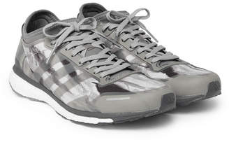 adidas Consortium Consortium - Undefeated Adizero Adios 3 Camouflage-Print Ripstop Sneakers - Men - Gray