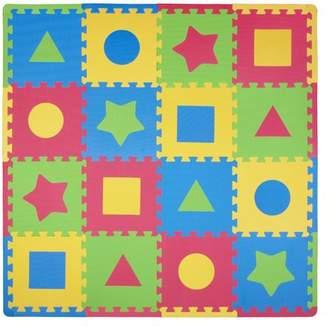 Tadpoles 16 Piece First Shapes Playmat Set