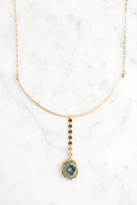 Amy Joy Ravenna Stalactite Stone Necklace