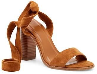 Joie Oki Ankle Tie Suede Sandal