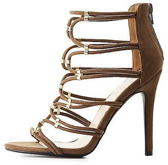 Metal-Tipped Tubular Dress Sandals $38.99 thestylecure.com