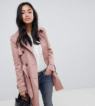 Asos DESIGN Petite classic trench coat