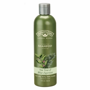 Nature's Gate Herbal Blend Soothing Shampoo, Tea Tree & Blue Cypress