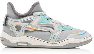 Lanvin High Frequency Neoprene Sneakers