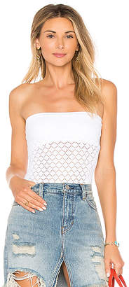 Free People Diamond Textured Seamless Tube Top