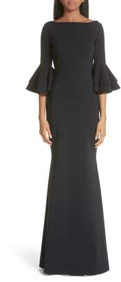 Evening Dress Bell Sleeve Shopstyle