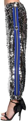 MSGM Logo Bands Sequined Pants