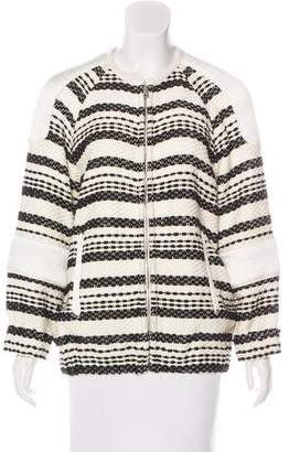 IRO Paneled Tweed Jacket