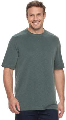 Croft & Barrow Big & Tall Classic-Fit Slubbed Outdoor Performance Crewneck Tee