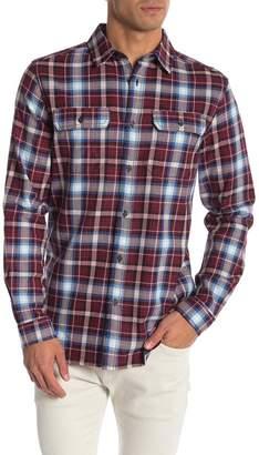 Como Man Plaid Long Sleeve Shirt