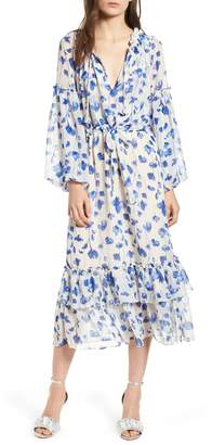 MISA LOS ANGELES Delyla Floral Print Dress