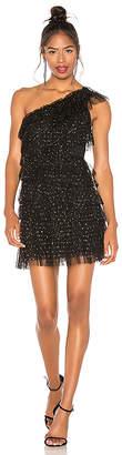 BCBGMAXAZRIA Tiered Tulle Dress