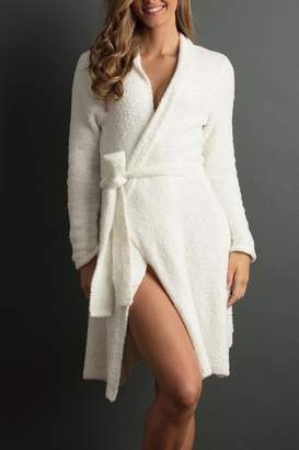 Lemon Soft Plush Robe