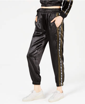 Juicy Couture Satin Graphic Track Pants