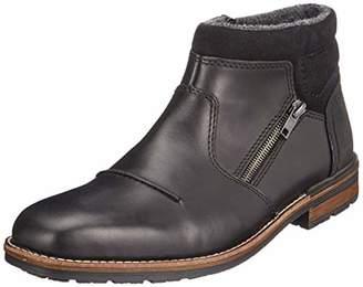 Rieker Men's F1372 Classic Boots, Black (Nero Schwarz 00)