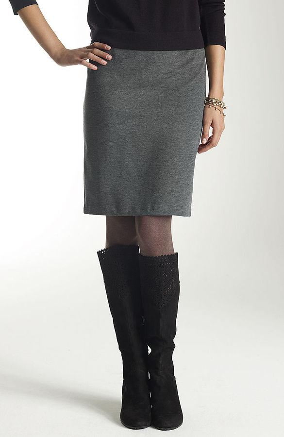 J. Jill Ponte knit skirt