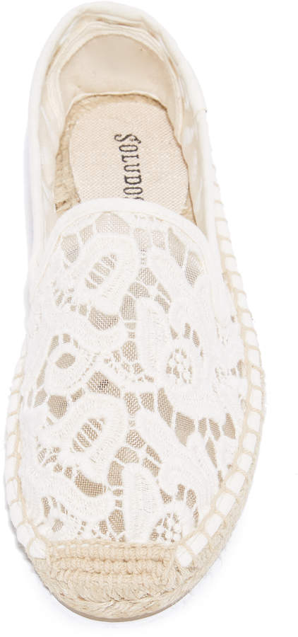 Soludos Tulip Lace Smoking Slipper Espadrilles 2