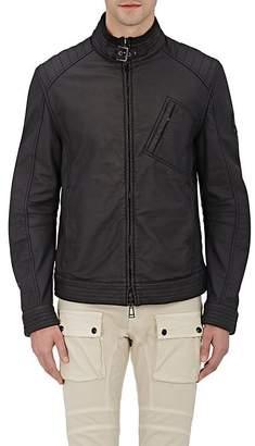 Belstaff Men's Zip-Front Buckled-Collar Blouson