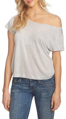 Women's 1.state One-Shoulder Tee $59 thestylecure.com