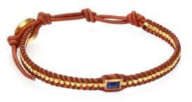 Chan LuuChan Luu Lapis & Natural Leather Bracelet