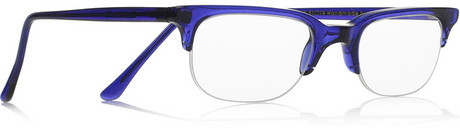 Cutler and Gross D-frame acetate reading glasses