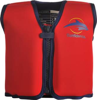 Equipment Konfidence Girls Swim Jacket Hibiscus Pink